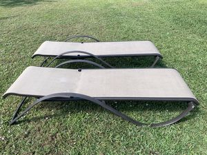Outdoor lounge chairs for Sale in Port St. Lucie, FL