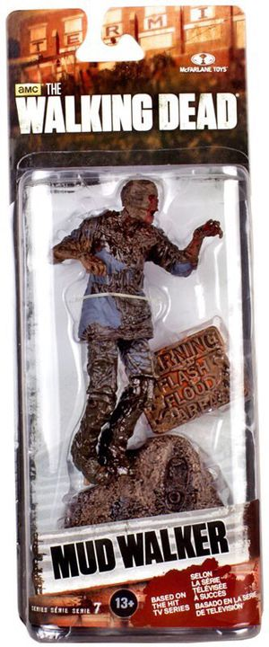 McFarlane the walking dead Mudd Walker zombie collectible hard to find for Sale in Lincoln, NE