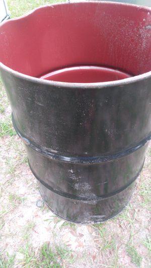 Metal burn barrel or trash can for Sale in Eagle Lake, FL