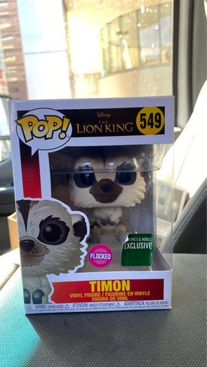 Disney lion king funko pop Timon for Sale in San Diego, CA