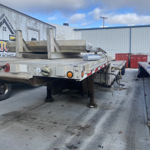 2014 chaparral full aluminum drop deck trailer for Sale in Dayton, OH