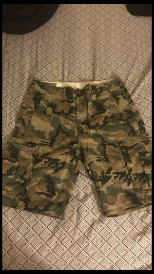 Size 32 Levi Camo Shorts for Sale in Annapolis, MD