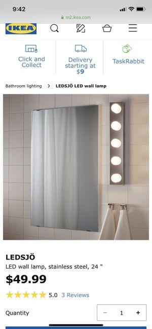 IKEA bathroom lighting-New for Sale in Palmetto Bay, FL