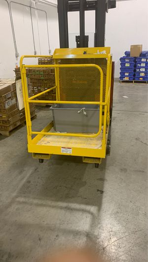 Uline forklift cage for Sale in Longwood, FL
