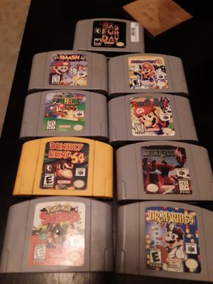 Nintendo 64 Game's for Sale in Snohomish, WA