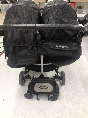 City mini baby double stroller with rider board for Sale in Gaithersburg, MD
