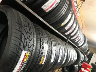 Just stock up on new tires. House brand and name brand available for Sale in San Antonio,  TX
