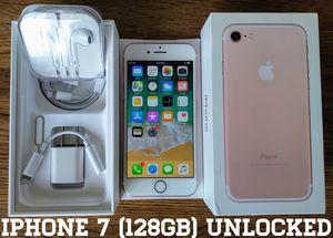 Iphone 7 (128GB) Factory-UNLOCKED (Like-New) for Sale in Arlington, VA