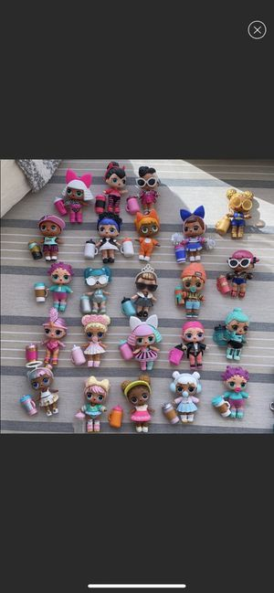 23 lol surprise dolls bundle for Sale in Blackwood, NJ