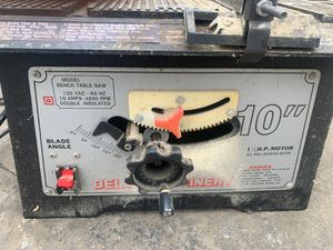 Bench table saw for Sale in Newark, OH