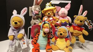 Used, Winnie the Pooh Disney Easter Mini Beanbag s for Sale for sale  Redondo Beach, CA
