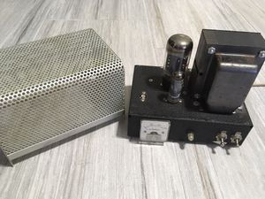Wawassee Black Cat JB-150 Modulator CB Radio Amplifier RCA 8714 Tube for Sale in St. Petersburg, FL