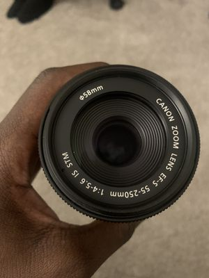 Canon 55-250 mm lense for Sale in Los Angeles, CA