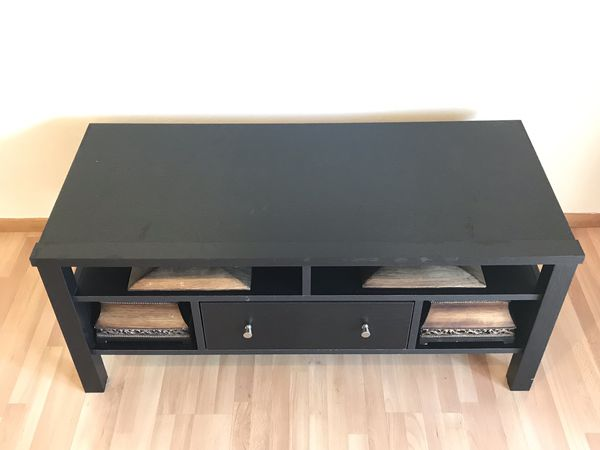 Awe Inspiring Hemnez Tv Stand Unit Black Brown Ikea For Sale In Concord Ca Offerup Creativecarmelina Interior Chair Design Creativecarmelinacom