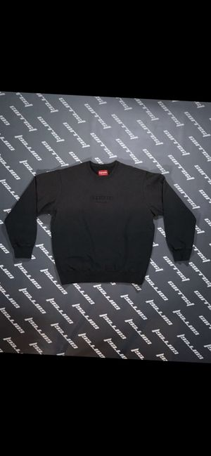 Supreme Dipped Crewneck Black Small for Sale in Henderson, NV