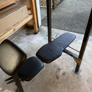 NEED GONE ASAP Weight Bench For Bench Press for Sale in Vashon, WA