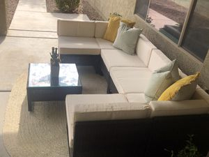New!! Patio set, outdoor set, patio sectional, outdoor sectional, patio furniture for Sale in Phoenix, AZ