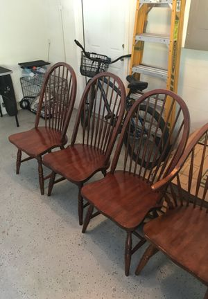 Wooden chairs for Sale in Valrico, FL