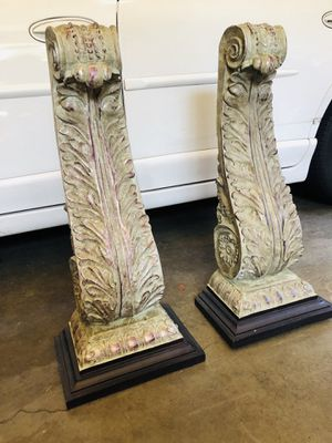 NWT pillars/wall mount/shelves/distressed for Sale in Portland, OR