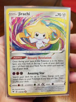 Amazing Rare Jirachi Vivid Voltage Pokemon for Sale in Duncan, SC