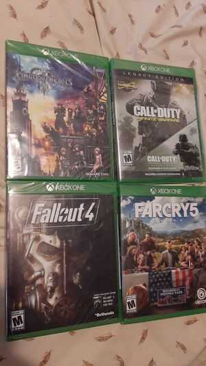 Xbox One Games - NEW & SEALED for Sale in The Bronx, NY