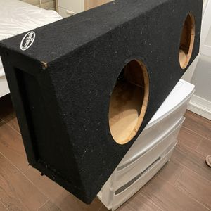 Subwoofer Enclosure For 12in Subs for Sale in Vista, CA