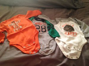 Baby boy clothes worn once for Sale in Port St. Lucie, FL
