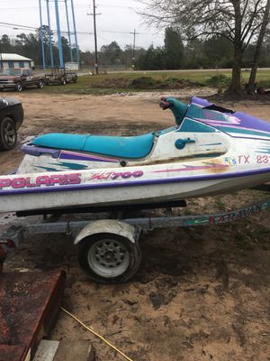 Its a 1996 Polaris 700 waverunner has12 hour on it and has clear title for Sale in Silsbee, TX