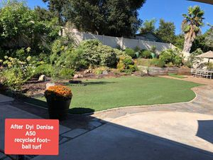 Recycled artificial turf from football fields for Sale in La Mesa, CA