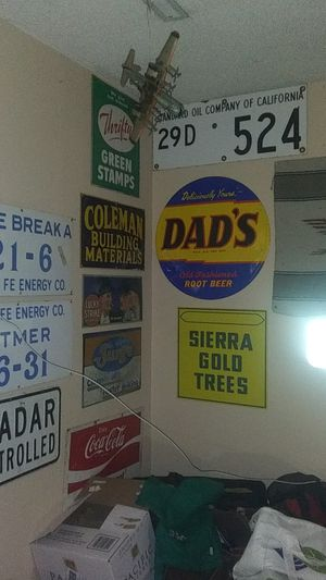 Lots of Rare Metal Signs starting at $ 10.00 for Sale in Clovis, CA