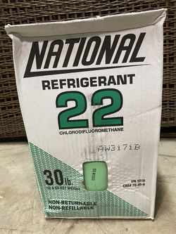 Freon R-22 Refrigerant 30lb Brand New Sealed freon for Sale in Sachse,  TX