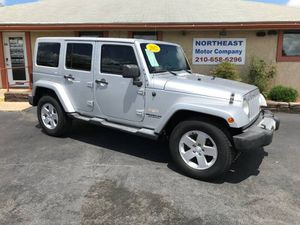 2012 Jeep Wrangler Unlimited for Sale in Universal City, TX