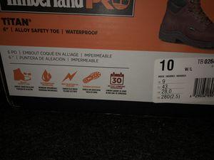 NEW TIMBERLAND Steel toe Water proof work boots for Sale in Manassas Park, VA