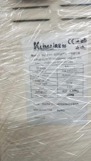 Klimaire 9000 BTU ac unit for Sale in Doral, FL