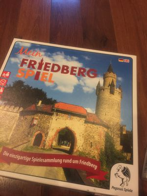 New in box friedberg Speil puzzle game - British / German for Sale in Buckeye, AZ