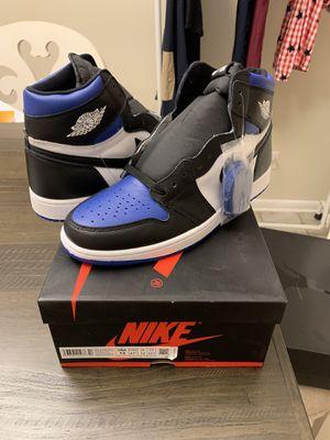 Nike air Jordan 1 retro Royal toe size 13 New for Sale in Lutz, FL