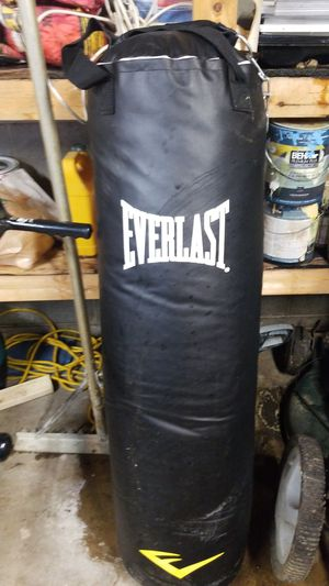 100lb Everlast punching bag for Sale in Streamwood, IL