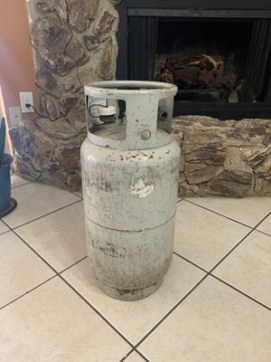 Forklift propane tank for Sale in Grand Prairie, TX