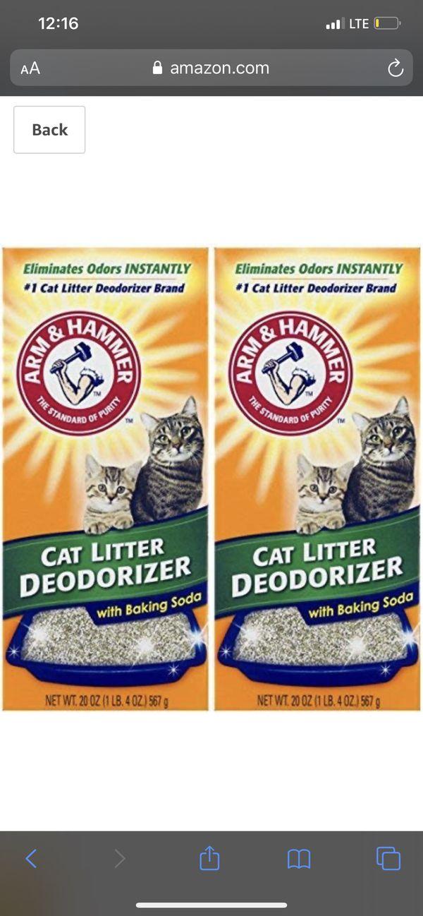 Cat deodorant powder 3 boxes