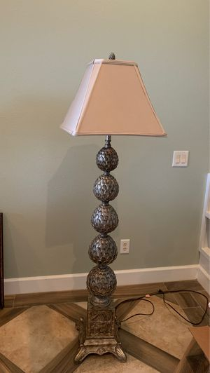 African style Elephant floor lamp from Ashley's Homestore for Sale in Auburndale, FL