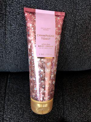 CHAMPAGNE TOAST Ultra Shea Body Cream for Sale in Rancho Cucamonga, CA