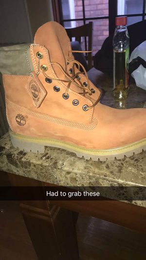 Size 11 timbs need gone now new!!! for Sale in Grosse Pointe, MI