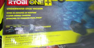 Ryobi underwater stick vacuum with charger and battery! for Sale in Irving, TX