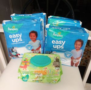 Pampers easy ups(training pants) 25ct size 2T/3T for Sale in Ellenwood, GA