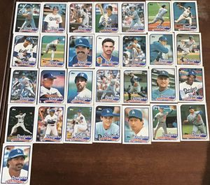 Topps 1989 LA Dodgers Cards for Sale in Eastborough, KS