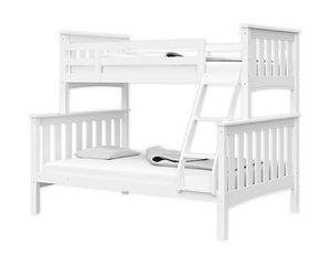 Thomasville Kids® Winslow Twin Over Full Convertible Bunk Bed in White for Sale in San Diego, CA