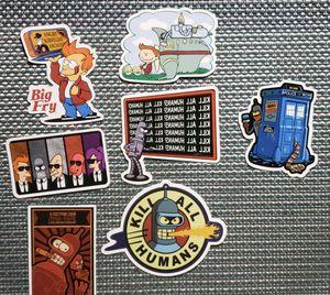 Futurama Waterproof Stickers for Sale in Williamsport, PA