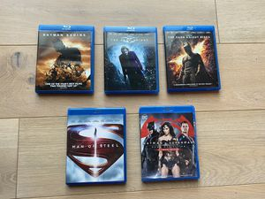 Batman and Superman DC Super hero Blu-rays for Sale in Bothell, WA