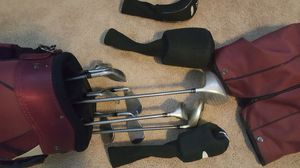 DM Distance master female right handed golf club set of ten(10) with balls and tee. for Sale in Durham, NC