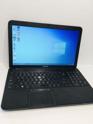 "Laptop Toshiba Satellite C855D 15.6"" screen 320GB HDD 4GB Ram webcam Windows 10 Office 2016 Antivirus for Sale in Brandon, FL"